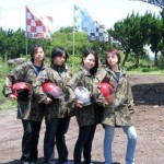 Wild ATV Girls at Jeju Island