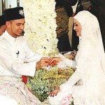 Wedding Pictures of Mawi AF3 and Ekin in Johor Bharu