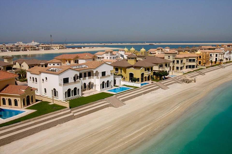 Magnificent Beach Houses In Dubai Photos Akademi Fantasia Travel