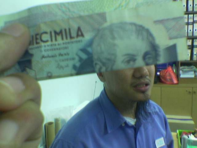 Funny Money Face 1