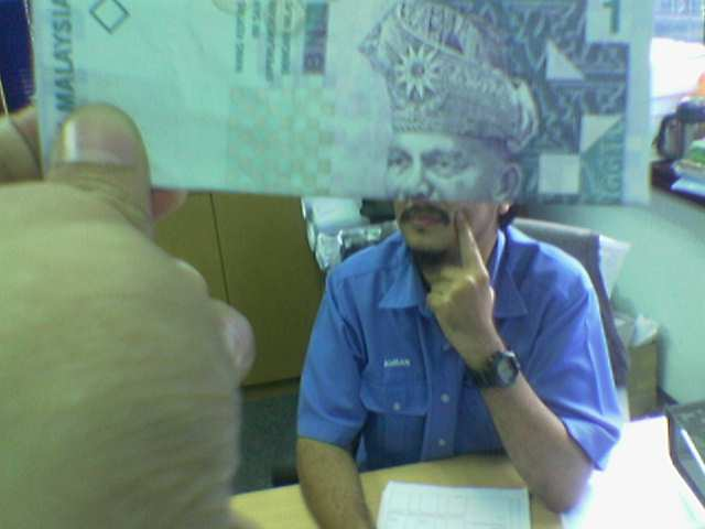 Funny Money Face 7