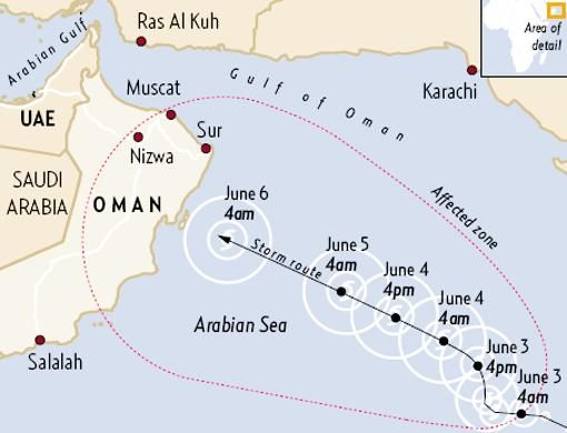 Oman Natural Disaster Scary Photos