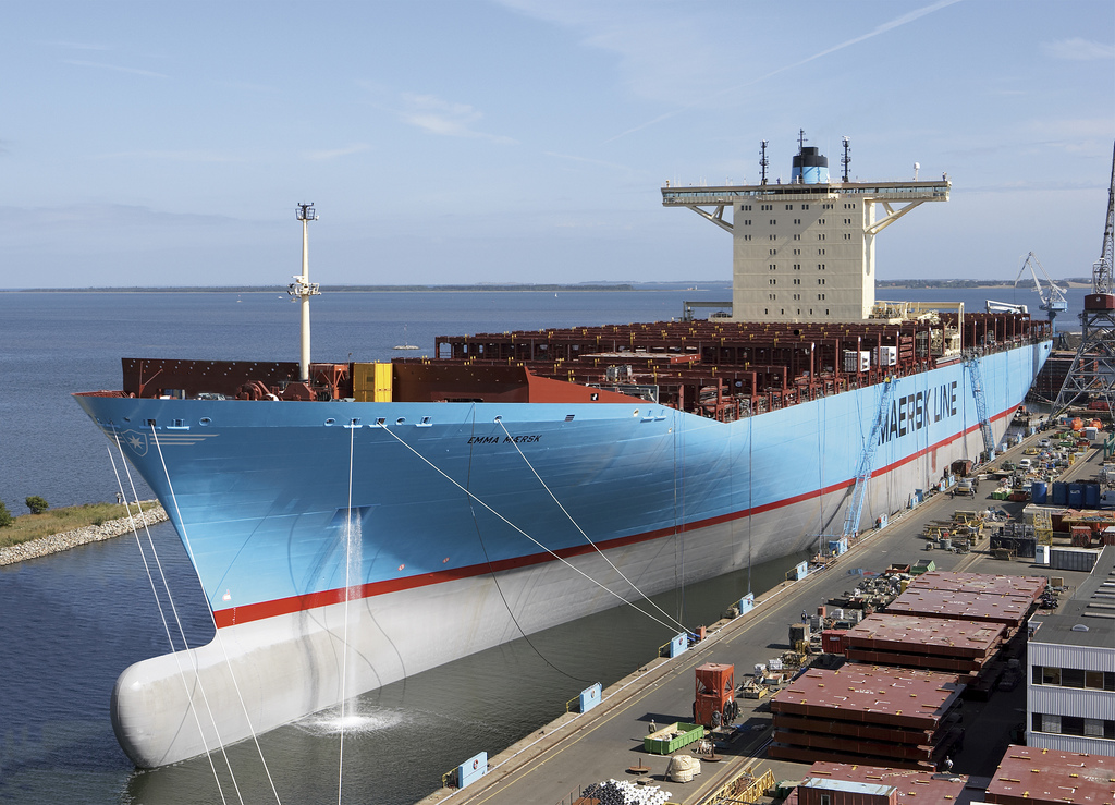 EMMA MAERSK – The Biggest on the Sea