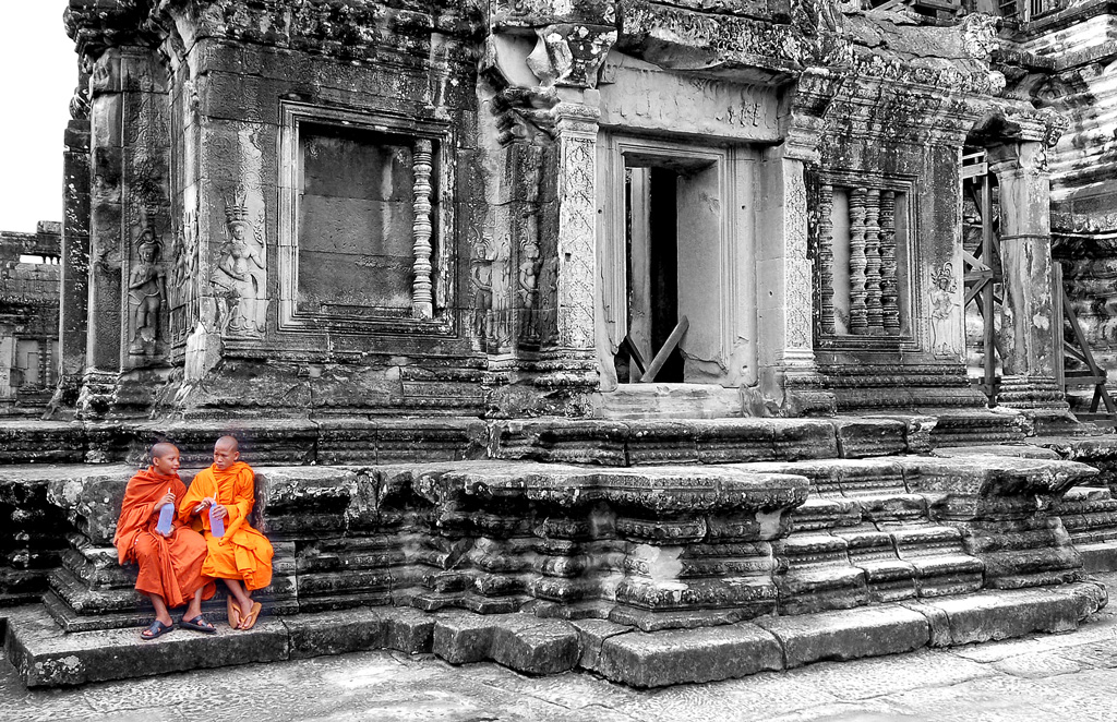 Angkor Monks