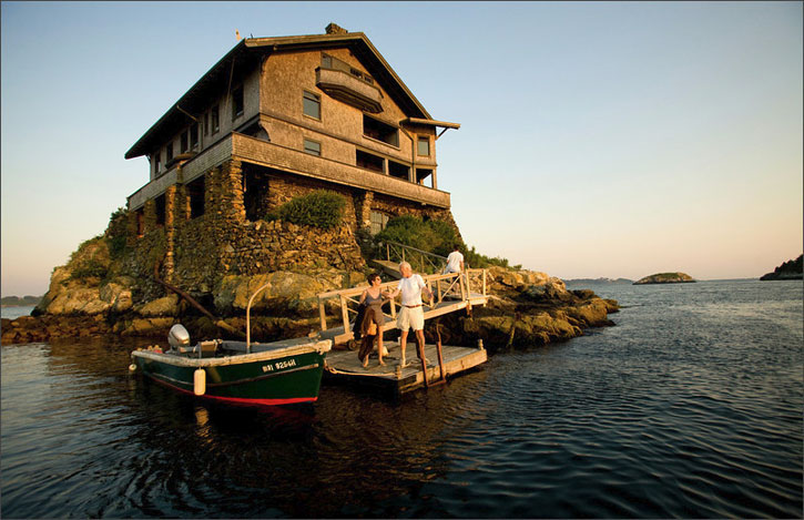 House on a rock at rhode island akademi fantasia travel Beach houses in rhode island