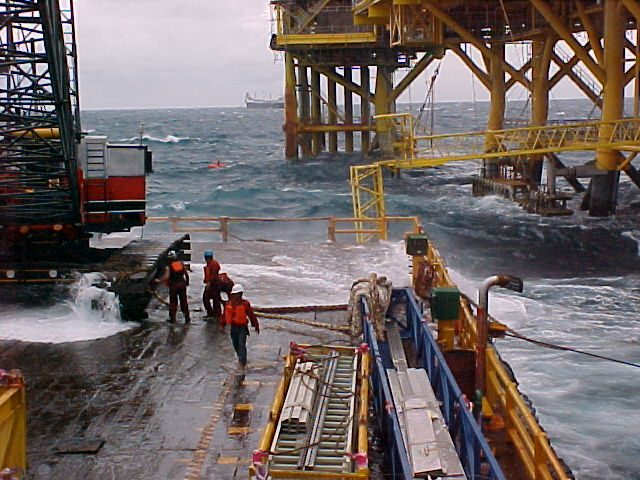 Deadly Offshore Sea Work at Sabah