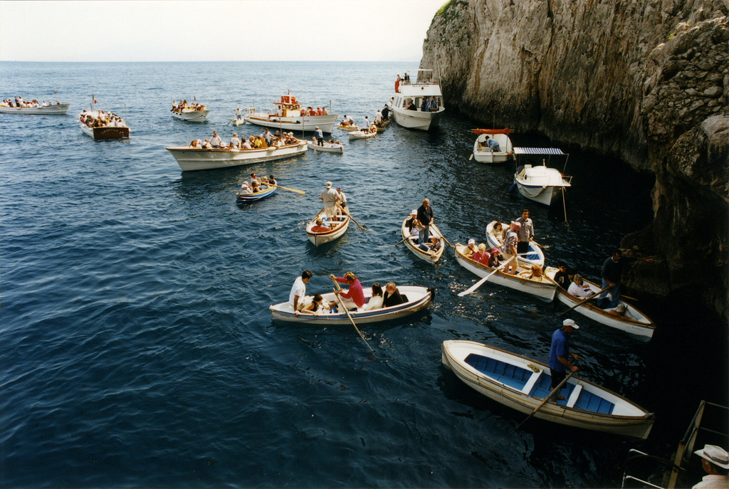 Amazing Blue Grotto Cave of Capri
