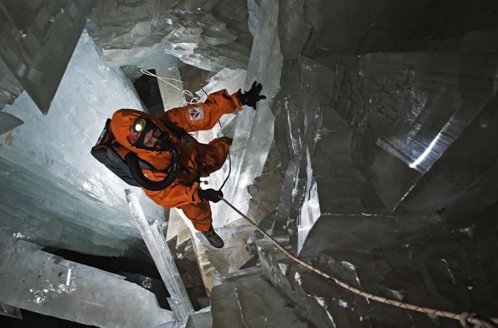 Magnificent Giant Crystal Cave at Naica