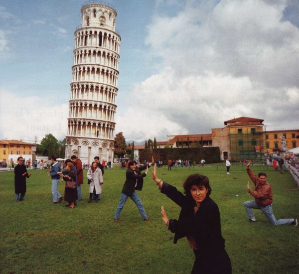 Failed Tourists at Pisa Tower