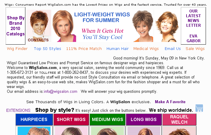 Salon of Best Wigs for Style