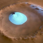 Traveling to Amazing Ice Lake on Mars