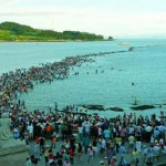 Jindo Sea Parting Miracle in Korea