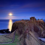 The Ruins of Dunnottar Castle in Scotland