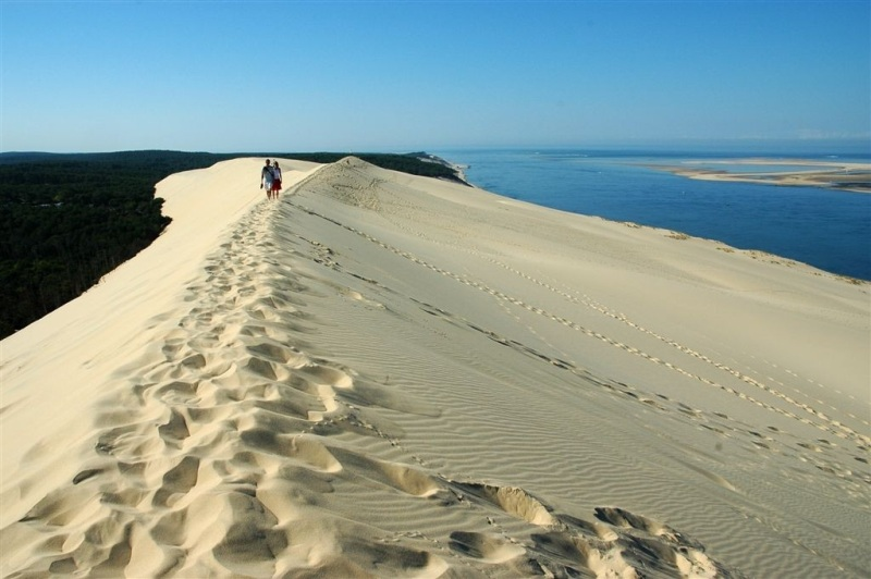 The Great Dune of Pyla, the Highest Sand Dune in Europe