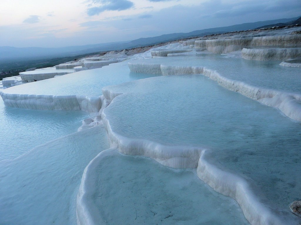 Turkey: Pamukkale, One of the Worlds Most Unique Touristic Destinations ...