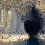 Amazing Pillars Island of Staffa