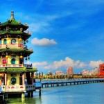 Kaohsiung City: Lotus Lake, One of the Most Popular Touristic Locations in Taiwan
