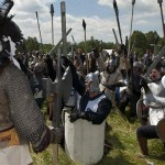 Goblins Battle Elves in Tolkien Re-enactment (PICS)