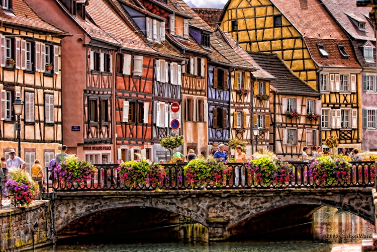 Top 5 most romantic place around world akademi fantasia Colmar beauty and the beast