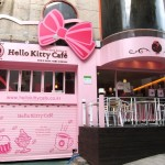 Hello Kitty Cafe in Korea