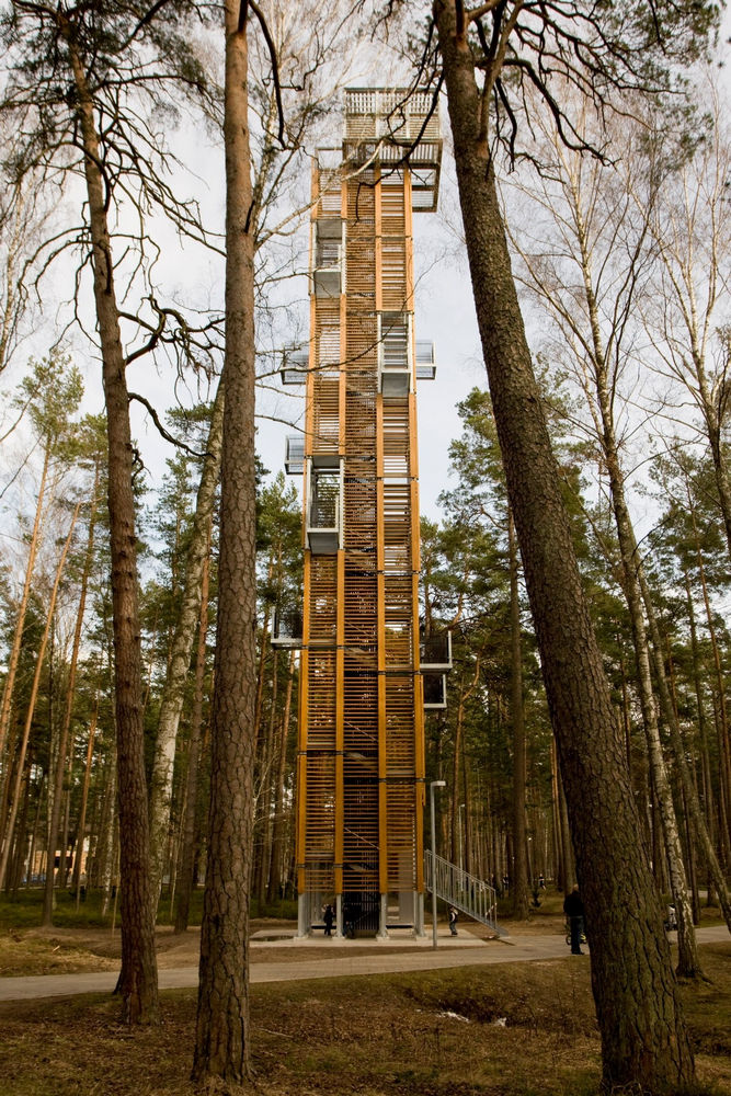 Attractive Observation Tower