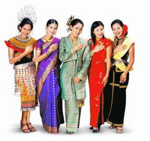 Clothing of Malaysians - Akademi Fantasia Travel