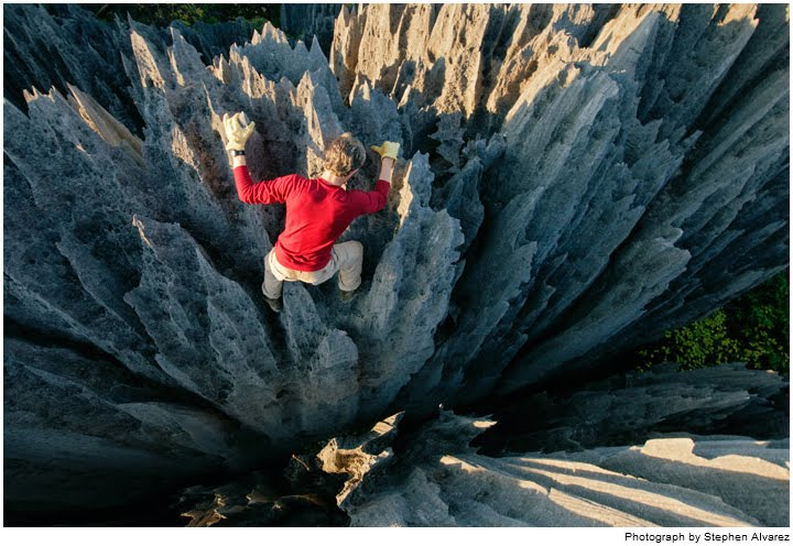 Beautiful And Hunting Stone Forest in Madagascar