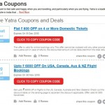 Discounted Travel Experience with Yatra Coupons