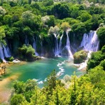 Beautiful Pictures of Kravica Waterfalls in Bosnia