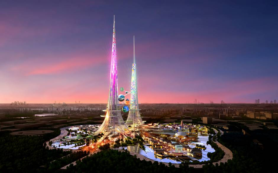 Phoenix Towers - World's New Tallest Twin Towers in China