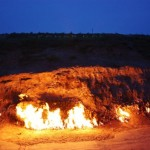 Yanar Dag – Eternal Burning Mountain in Azerbaijan