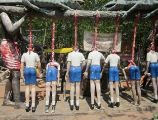 Weird Hell Torture Theme Park In Thailand 10 Pictures