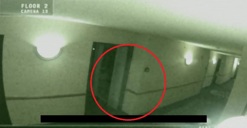 Screaming Ghost Footage in Wingate Hotel Illinois
