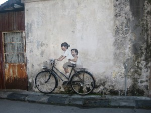 Creative Penang Street Art (10 Pictures)